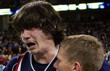 Adam Morrison: #2 NBA Draft Bust