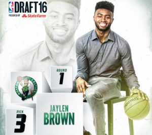 2016 NBA Draft jaylen brown