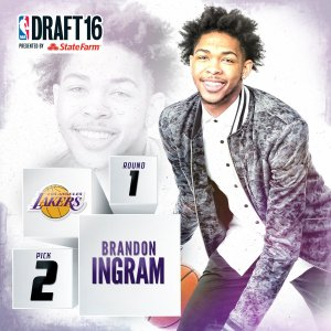 2016 NBA Draft brandon ingram