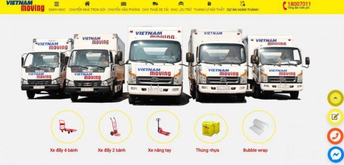 Dịch vụ chuyển nhà trọn gói Vietnam Moving
