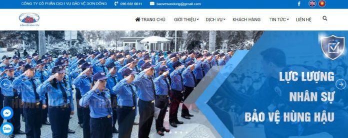 Công ty cổ phần dịch vụ bảo vệ Sơn Đông Hải Phòng