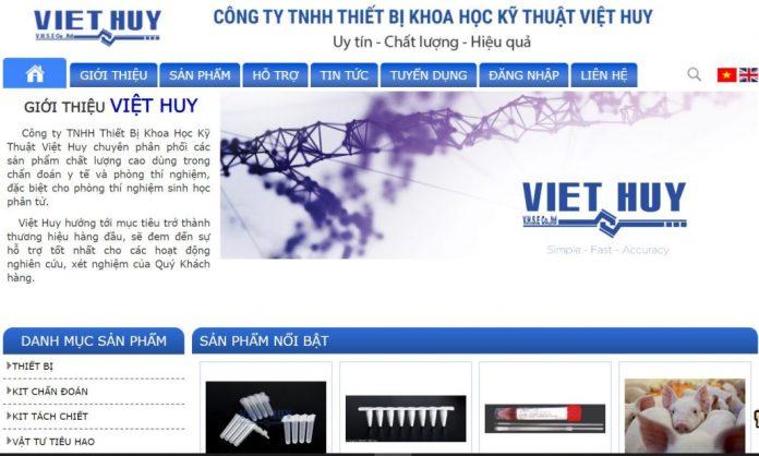 Công ty thiết bị khoa học kỹ thuật Việt Huy