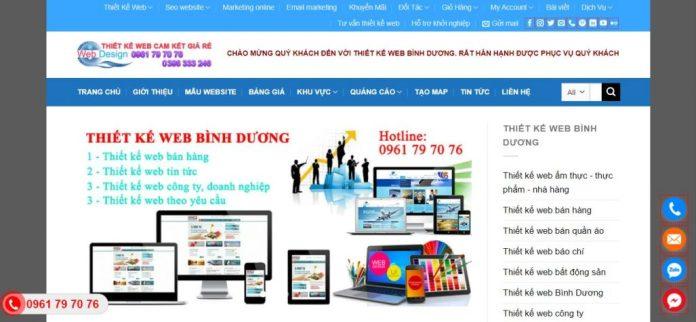 Công ty Thiết kế website Hiệp Phát Bình Dương