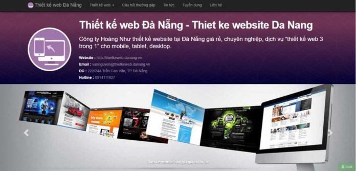 Công Ty Thiết Kế Website Hoàng Như