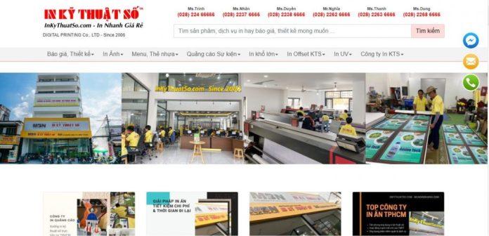 Công ty in lịch tết DIGITAL PRINTING Co., LTD
