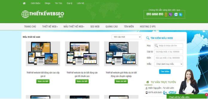 Công ty thiết kế website Dịch Vụ ZoZo
