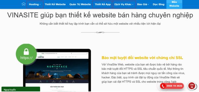 Công Ty Thiết Kế Website VINASITE VIỆT NAM
