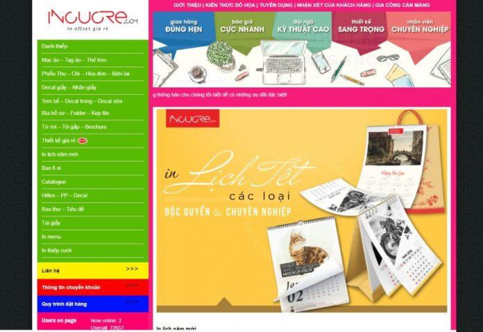 Công ty in lịch tết DẤU CHÂN VIỆT - INCUCRE.COM