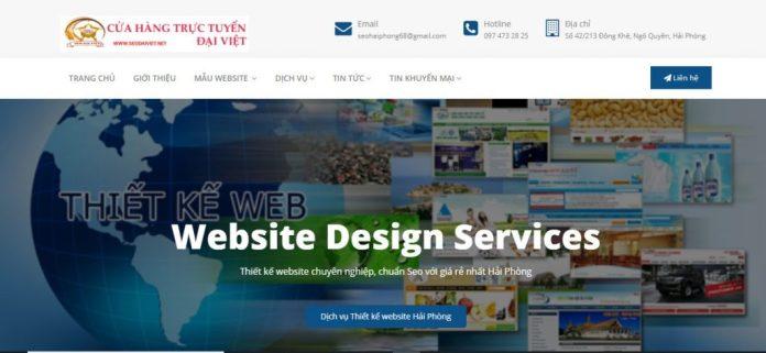 Công ty thiết kế website ĐẠI VIỆT
