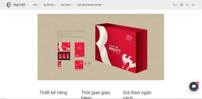 Công ty cung cấp quà tết cho nhân viên Trà Việt