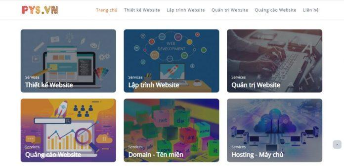 Công Ty Thiết Kế Website Pys.vn