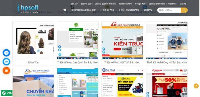 Công Ty Thiết Kế Website - HPSoft