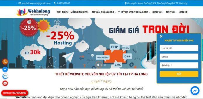 Công Ty Thiết Kế Website - Web Hạ Long