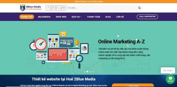 Công Ty Thiết Kế Website - 2Blue Media