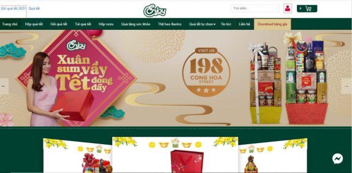 Công ty cung cấp giỏ quà tết cho doanh nghiệp Enjoy