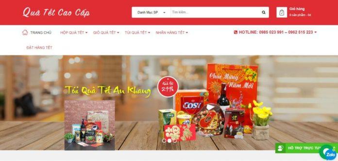 Công ty cung cấp giỏ quà tết cho doanh nghiệp Quà tết cao cấp