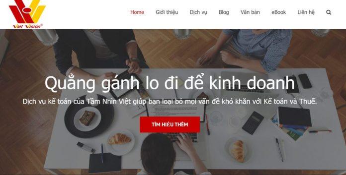 Công ty kế toán Tầm Nhìn Việt