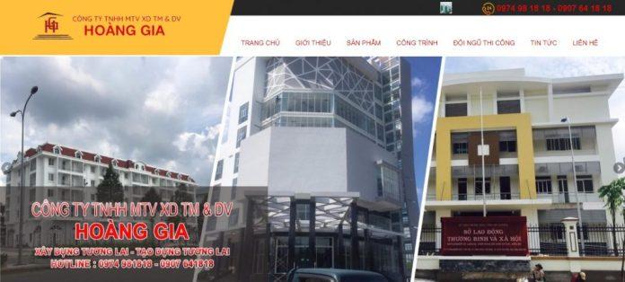 Công ty xây dựng nhà Hoàng Gia