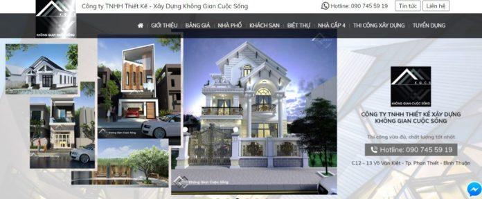 Công ty xây dựng nhà Không Gian Cuộc Sống