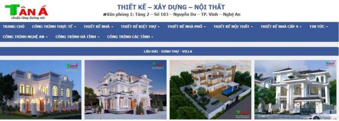Công ty xây dựng nhà Tân Á
