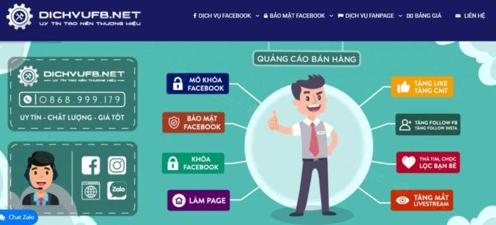 Dịch vụ tăng like Facebook DICHVUFB.NET