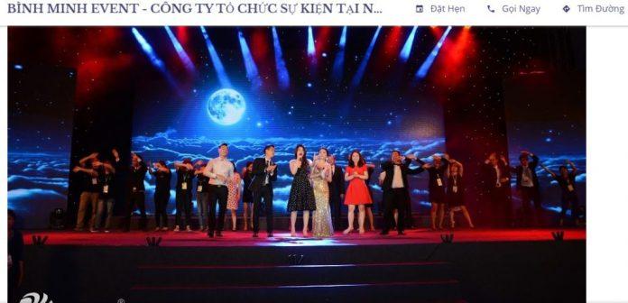 Công ty tổ chức sự kiện Bình Minh Event
