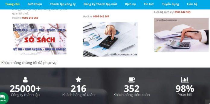 Công ty tư vấn thuế Đồng Nai