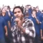 High School Band Joined By Lenny Kravitz
