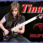 "Tina S. | ""Eruption"" guitar cover (Van Halen)"