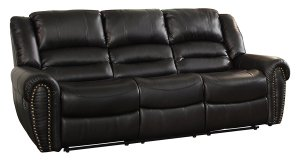 Best Leather Reclining Sofas Homelegance 9668BLK