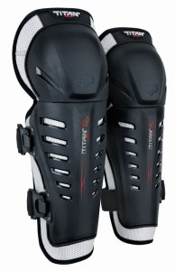 Fox Racing Titan Race Adult Knee/Shin Guard Off-Road Motorcycle Body Armor