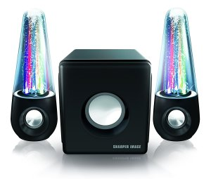 Sharper Image SBT5002 Water and Light Show Bluetooth