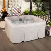 LifeSmart Rock Solid Simplicity Plug and Play 4 Person Hot Tub
