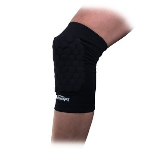COOLOMG Pad Crash Proof Antislip Basketball Leg Knee Short Sleeve Protector Gear