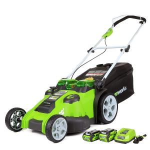 Greenworks 20-Inch 40V Electric Lawn Mower