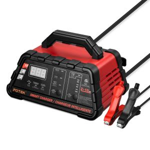 Potek Amp Smart Battery Charger and Maintainer