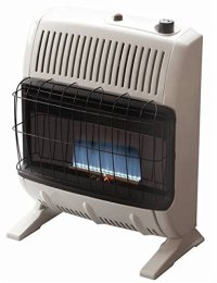 Mr Heater Corporation Vent Flame Natural Gas Heater
