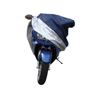 Silver X-Large Motorcycle Cover