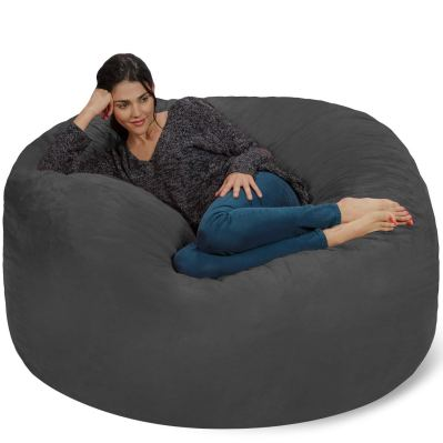 Chill Sack Bean Bag Chair Giant 5 Memory Foam Furniture Bean Bag