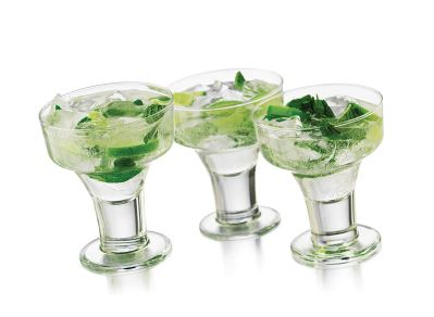 Libbey 6-Piece Cool Cocktails Urban Edge Margarita Glass Set