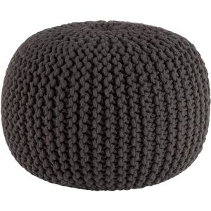 COTTON CRAFT - Hand Knitted Cable Style Dori Pouf