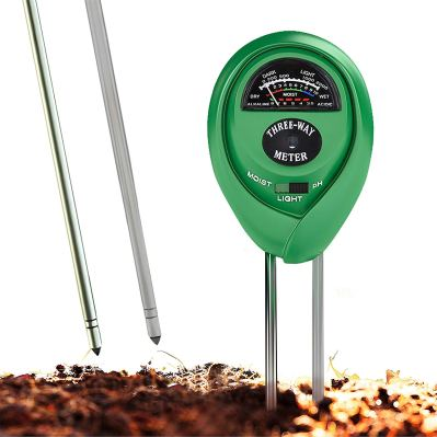 Soil pH Meter, 3-in-1 Soil Test Kit For Moisture