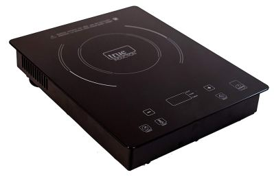 True Induction T1-1B Single Burner Counter Inset Energy Efficient induction Cooktop