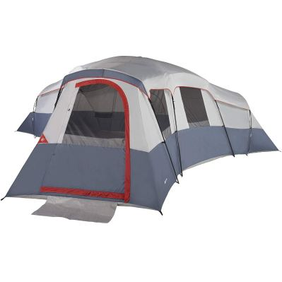 20 Person Cabin Tent Fits 6 Queen Airbeds or up to 20 Sleeping Bags