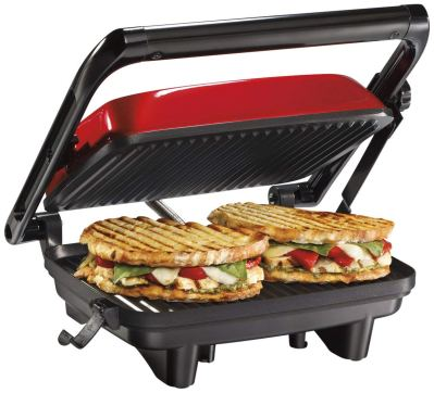 Hamilton Beach 25462Z Panini Press Gourmet Sandwich Maker