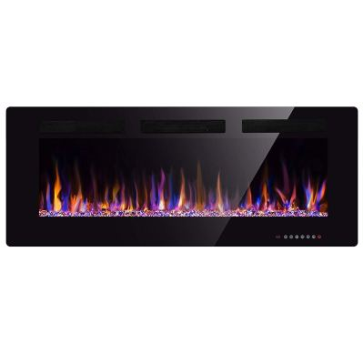 Xbeauty 50 Electric Fireplace in-Wall Recessed