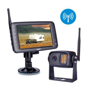 Wireless Backup Camera System IP69K Waterproof Wireless Rear View Camera