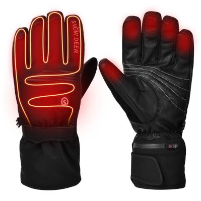 2019 Upgraded Heated Gloves,Motorcycle Gloves