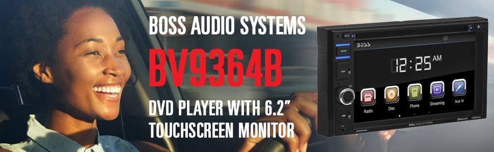 BOSS Audio Touch Screen Car Stereos