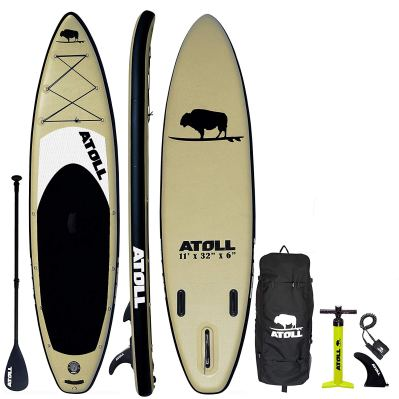 Atoll 11-Foot Inflatable Stand Up Paddle Board